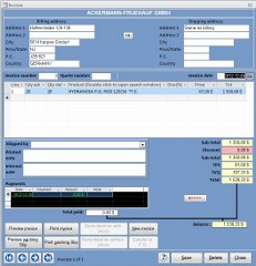 Ms Access Customer Template Invoice Form
