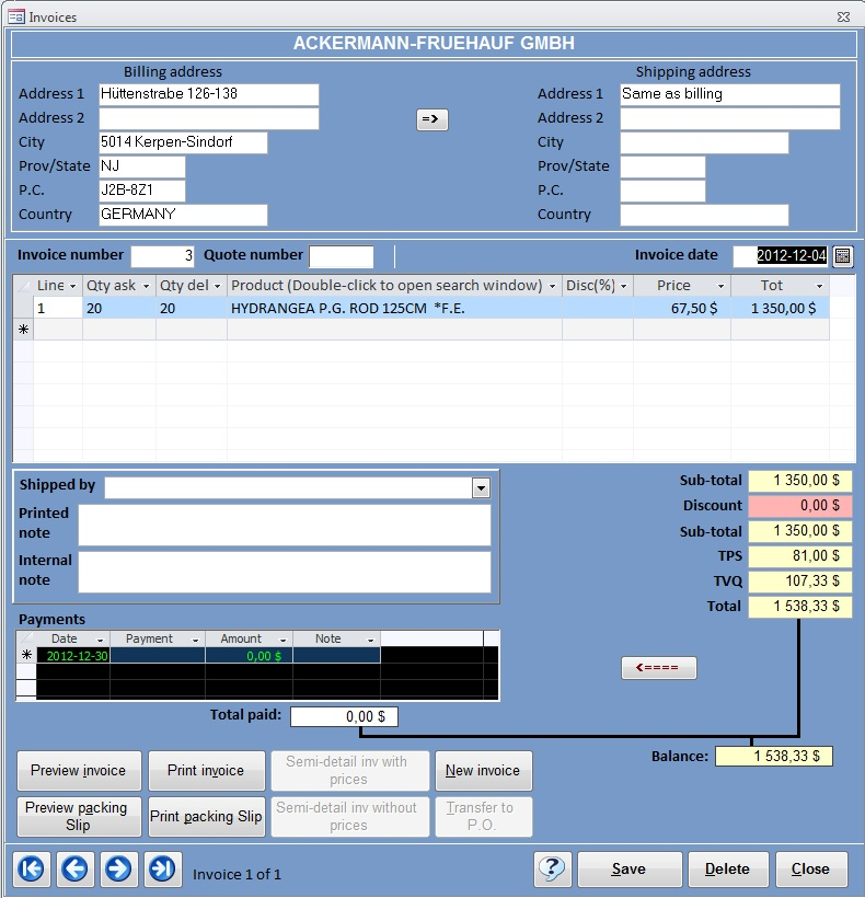 microsoft access invoice template access templates free samples